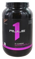 Rule One Proteins - R1 Casein 28 Servings Chocolate Fudge - 2.09 lbs.