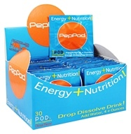 PepPod - PepPod Energy Tablets Citrus - 30 Packet(s)