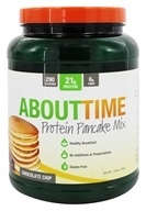 About Time - Protein Pancake Mix Chocolate Chip - 1.5 lbs.