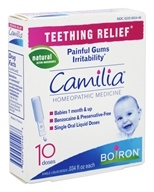 Boiron - Camilia Teething Relief Homeopathic Medicine - 10 Dose(s)