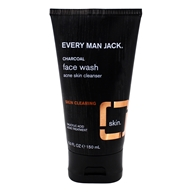 Every Man Jack - Skin Clearing Face Wash Fragrance Free - 5 oz.