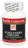 Health Concerns - Schizandra Dreams - 90 Tablets