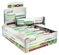 Genuine Health - Fermented Vegan Proteins+ Bars Double Chocolate Chip - 12 Bars