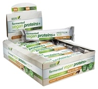 Genuine Health - Fermented Vegan Proteins+ Bars Peanut Butter Chocolate - 12 Bars
