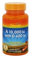 Thompson - Vitamin A 10,000 IU with Vitamin D 400 IU - 30 Softgels
