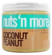 Nuts N More - High Protein Peanut Spread Coconut Peanut - 16 oz.