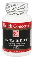 Health Concerns - Astra 18 Diet - 90 Tablet(s)