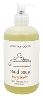 Common Good - Hand Soap Bergamot - 12 oz.