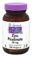 Bluebonnet Nutrition - Zinc Picolinate 50 mg. - 100 Vegetarian Capsules