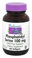 Bluebonnet Nutrition - Phosphatidyl Serine 100 mg. - 60 Softgels