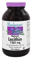 Bluebonnet Nutrition - Natural Lecithin 1365 mg. - 180 Softgels