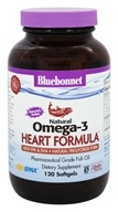 Bluebonnet Nutrition - Natural Omega-3 Heart Formula - 120 Softgels