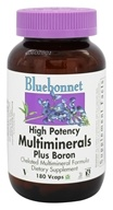 Bluebonnet Nutrition - Multiminerals Plus Boron - 180 Vegetarian Capsules