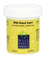 Wise Woman Herbals - Wild Weed Salve - 2 oz.