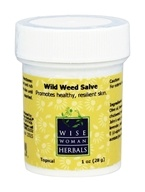 Wise Woman Herbals - Wild Weed Salve - 1 oz.