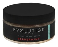 Evolution Salt Company - Himalayan Salt Scrub Peppermint - 12 oz.