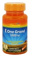 Thompson - E One Grand 1000 IU - 30 Softgels