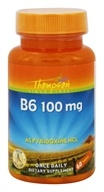 Thompson - Vitamin B6 Pyridoxine HCl 100 mg. - 60 Tablets