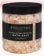 Evolution Salt Company - Himalayan Crystal Bath Salt Coconut - 26 oz.
