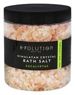 Evolution Salt Company - Himalayan Crystal Bath Salt Eucalyptus - 26 oz.