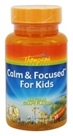 Thompson - Calm & Focused For Kids Natural Grape Flavor - 30 Chewables