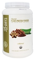 22 Days Nutrition - Organic Plant-Protein Powder Natural - 25.4 oz.