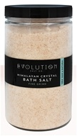 Evolution Salt Company - Himalayan Fine Grind Crystal Bath Salt - 40 oz.
