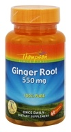 Thompson - Ginger Root 100% Pure 550 mg. - 60 Capsules