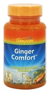 Thompson - Ginger Comfort Stomach Soothing Formula - 30 Vegetarian Capsules