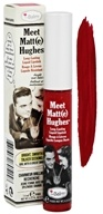 theBalm - Meet Matt(e) Hughes Lipstick Devoted Bright Red - 0.25 oz.
