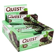 Quest Nutrition - Quest Bar Protein Bar Mint Chocolate Chunk - 12 Bars