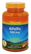 Thompson - Alfalfa All Natural 500 mg. - 180 Tablets