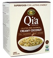 Nature's Path Organic - Qi'a Superfood Oatmeal Creamy Coconut - 6 Packet(s)