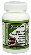 Kirkman - Broccoli Seed Extract Enzyme Activated - 60 Vegetarian Capsules