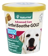 NaturVet - Advanced Care ArthriSoothe-Gold Level 3 - 70 Soft Chews