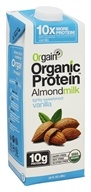 Orgain - Organic Protein Almondmilk Lightly Sweetened Vanilla - 32 oz.