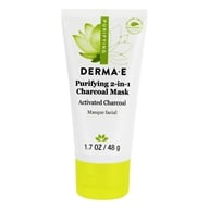 Derma-E - Purifying 2-in-1 Charcoal Mask - 1.7 oz.