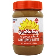 SunButter - Sunflower Butter No Sugar Added - 16 oz.