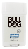 Bulldog Natural Skincare - Deodorant Cedarwood & Patchouli - 2 oz.