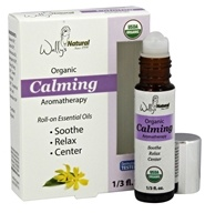 Wally's Natural Products - Organic Calming Aromatherapy Roll-On Essential Oils - 0.33 oz.