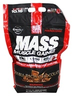 Mass Muscle Gainer Double Rich Chocolate - 10.16 lbs.