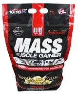 Elite Labs USA - Mass Muscle Gainer Vanilla Ice Cream - 10.16 lbs.