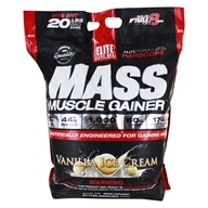 Elite Labs USA - Mass Muscle Gainer Vanilla Ice Cream - 20 lbs.