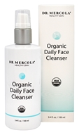 Dr. Mercola Premium Supplements - Organic Daily Face Cleanser - 3.4 oz.
