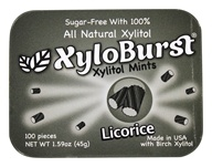 XyloBurst - Xylitol Mints Licorice - 100 Piece(s)