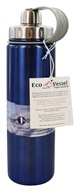 Eco Vessel - Boulder Insulated Water Bottle Blue Glow - 24 oz.