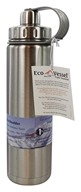 EcoVessel - Boulder Insulated Water Bottle Silver Express - 24 oz.