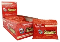 Honey Stinger - Organic Energy Chews with Vitamin C Fruit Smoothie - 12 Packet(s)