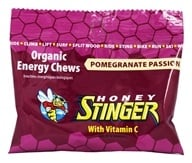 Honey Stinger - Organic Energy Chews with Vitamin C Pomegranate Passion - 1.8 oz.