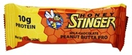 Honey Stinger - Protein Bar 10g Whey Protein Milk Chocolate Peanut Butta Pro - 1.5 oz.